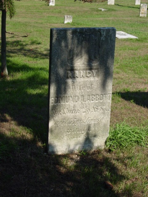 Nancy Abbott stone
