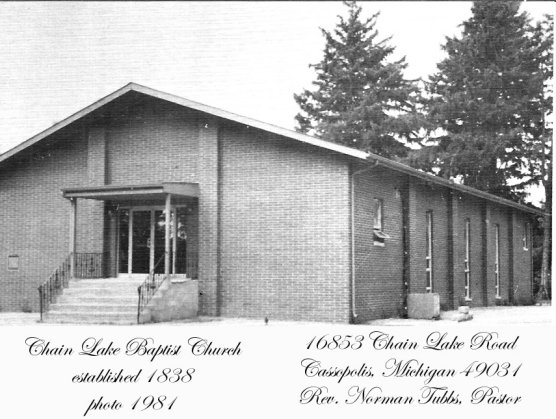 Chain Lake Baptist Church