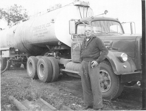 Jesse with tanker