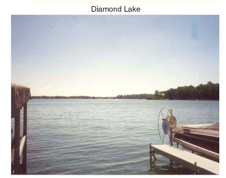 Diamond Lake from Docks
