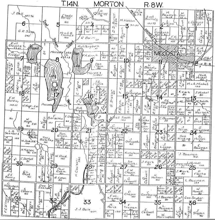 Livingston County Mi Township Map Images